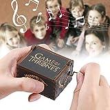 Raguso Caja de música Artesanía Musical en Madera para niños para...