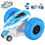 RC Stunt Car Kookids Remote Control Car for Kids 360°Flips 4WD 2.4Ghz Remote Control Car with Color Headlights