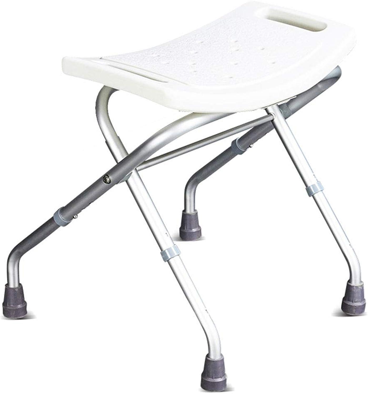 SWH Bad hocker ltere Badestuhl Hocker Duschstühle for Senioren Mit Hhenverstellbarer Badestuhl for Behinderte Erwachsene Duschstuhl Falten