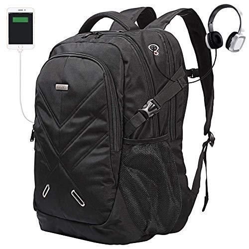 Ronyes Notebookrucksack Backpack Regenschutz wasserdichte Stoßfest Reiserucksack (15,6...