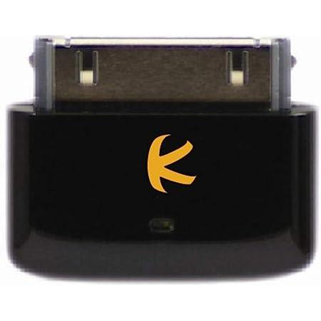 KOKKIA i10s_black : Apple公認iPod/iPhone/iPad用小型Bluetooth iPodトランスミッター(豪華なブラック)リモートコントロールとiPod/iPhone/iPadローカルボリュームコントロール機能。iPod、iPhone、iPad の30ピンコネクタに対応。AirPods に対応。