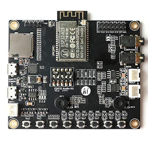 IGOSAIT ESP32-AUDIO-KIT ESP32 Tablero de Desarrollo de Audio WiFi Módulo Bluetooth Bluetooth Dual-Core Dual-Core con ESP32-A1S 8M PSRAM Serial a WiFi