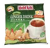 Gold Kili Instant Honey Ginger Drink 360 g (20 bustine – Confezione da 5)