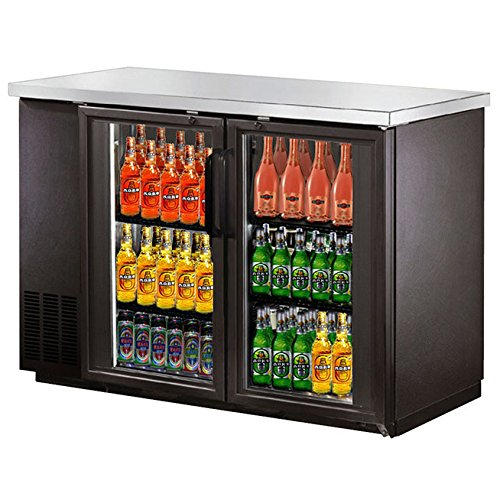SABA Narrow Glass Door Back Bar Cooler with ...