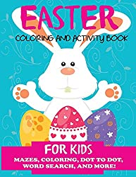 easter book coloring and activity