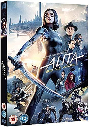Alita Battle Angel dvd 2019