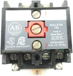 ALLEN BRADLEY 700-P400A1 Direct Drive Control Relay 115-120V-AC SER B D635630