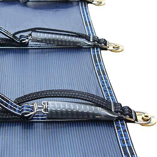 Cubierta Piscina/Cobertor Piscina/ Funda Piscina Cubierta De Seguridad De Malla De PP Para Piscinas Rectangulares Enterradas, Incluye Todo El Hardware Necesario, 1 M / 2 M / 3 M / 4 M / 5 M / 6 M / 7
