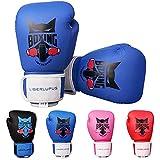 Liberlupus Guantes de boxeo para niños y niñas, guantes de boxeo para niños de 3 a 15, guantes de...