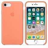 Funda para iPhone 7/8 Carcasa Silicona Suave Colores del Caramelo con Superfino Pelusa Forro,Anti-rasguños Teléfono Caso para Apple iPhone 7/8 (iPhone 7/8, Melocotón)