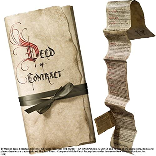 caliente Noble Noble Noble Collection Bilbo Deed of Contract  marcas en línea venta barata