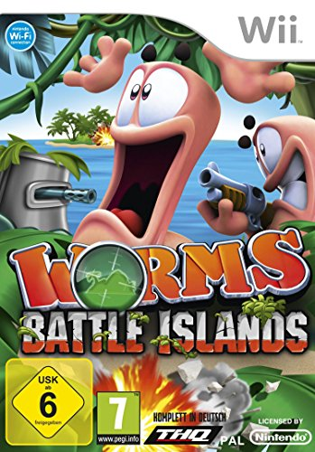 Worms Battle Island [Software Pyramide]