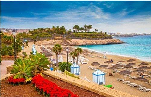 Puzzle 1000 Piezas Summer Tenerife Dude Beach On Tenerife Canary Isl Uego Casual De Arte Diy Juguetes Regalo Interesantes Amigo Familiar Adecuado