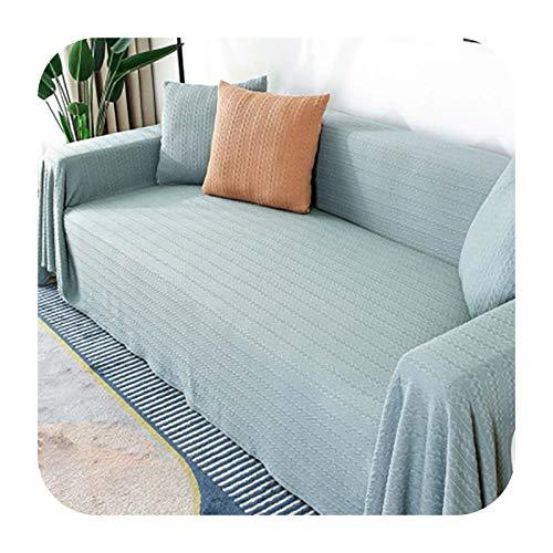 KASHINO Funda de sofá de tela de color sólido, moderna, universal, para sofá de 1/2/3/4 plazas, decoración del hogar, 06-180x230 cm