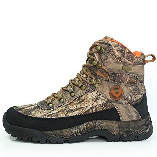 QIKAI Botas Tácticas Magnum Camuflaje Al Aire Libre Zapatos De Camuflaje. Zapatos De Senderismo De Alta Superior