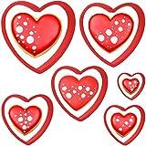 Iindes La Saint Valentin Emporte-pièces en Forme de cœur