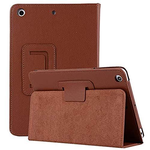 Hülle für Galaxy Tab S5e 10,5 Zoll, Miya PU Ledereckenschutz Eingebaute Kartenfächer mit Handschlaufe/Stifthalter für Samsung Galaxy Tab S5e 2019 SM-T720 / SM-T72 Tablet(Braun)