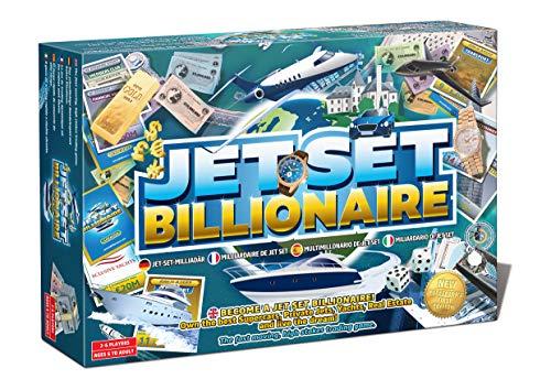 Jet-Set Milliardär-Brettspiel Handelsspiel Brettspiel Familie Brettspiel Strategie-Spiel