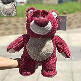 N / A Original Toy Story 3 Lotso Hugging Bear Relleno Oso de Fresa Peluches para Niños Regalo de Niños 34 CM