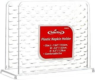 New 322482 Table King Napkin Holder Plastic 5.7 X 2.6 X 4.5 (24-Pack) Kitchen Utensil Cheap Wholesale Discount Bulk Kitchenware Kitchen Utensil Bud Vase