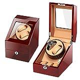Zatnec Caja Relojes Automaticos 5 Modos De Rotación Cajas Giratorias para Caber 2+3 Relojes Caja De Relojes Mecánicos (Size : C)