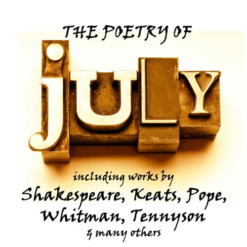 Page de couverture de The Poetry of July