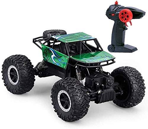 Moerc RC Off-Road Vehículo, 1:18 Scala Control Remoto Aleación de aleación Montaña Bigfoot Car 2.4GHz Radio controlado Monster Truck 4x4 Todo Terreno Escalada Juguetes Buggy for niños y Adultos