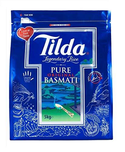 Tilda Pure Original Langkorn Basmati Reis 20kg (abgepackt in 4x5kg)