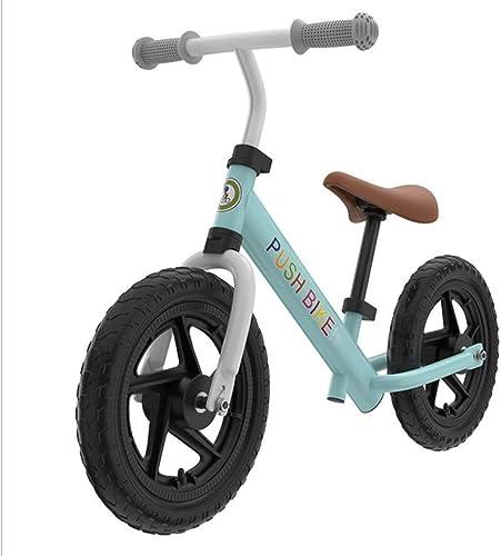 El nuevo outlet de marcas online. MYMAO 01Niños de Dos Ruedas Coche-Libre Cochecito de de de Equilibrio Coche Ligero bebé aleación de Aluminio Multifuncional Racing Scooter 12 Pulgadas,Skyazul  seguro de calidad