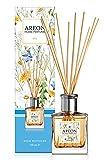 AREON Home Perfume Difusor de varillas 150 ml SPA + 10 Cañas de Ratán