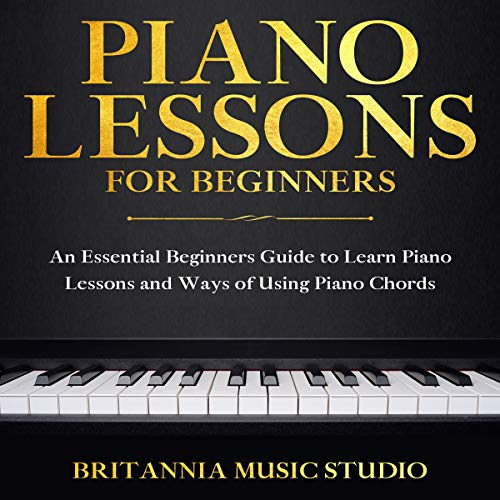Piano Lessons for Beginners cover art