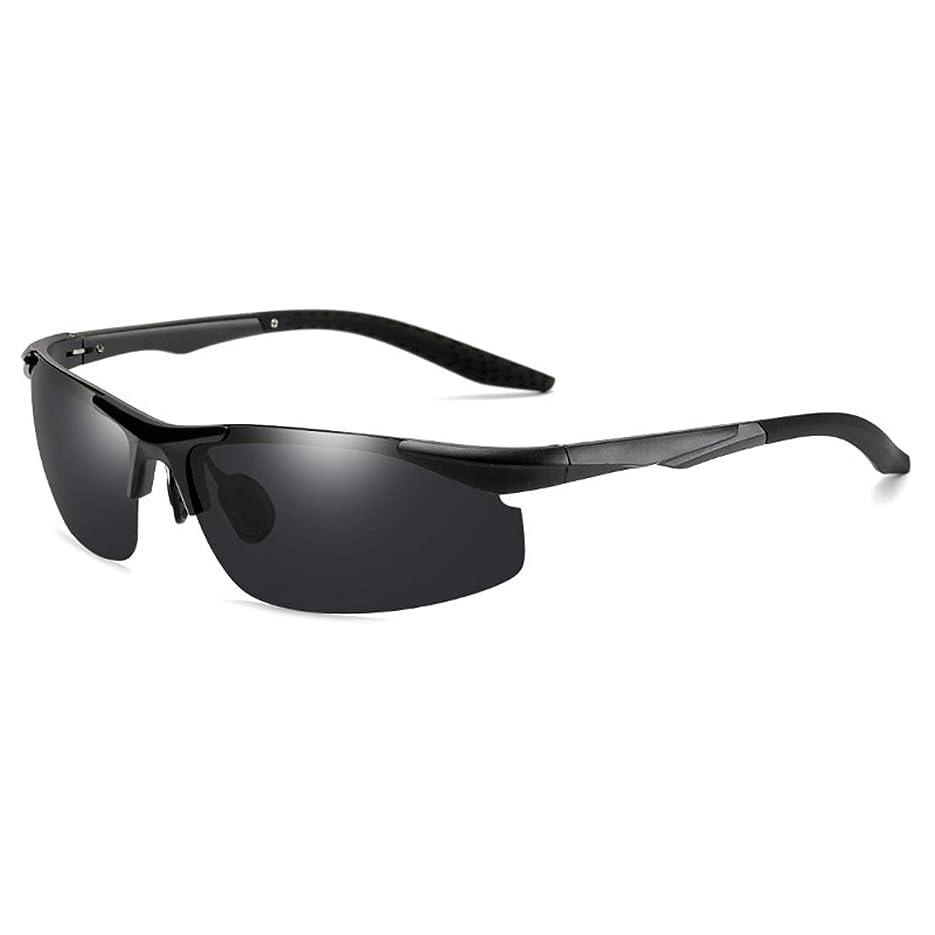 上に築きます羊飼い大陸偏光レンズ サングラス 超軽量サングラス メタルフレームスポーツサングラス 男女兼用 多機能
