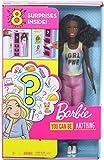Barbie Quiero Ser, Descubre la Profesión, Incluye Muñeca y 8 Accesorios para Dos Carreras Sorpresa (Mattel GLH63) , color/modelo surtido