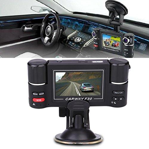 Sedeta® Driving Dash camion double objectif enregistreur de données Cam caméra HD DVR Vedio voiture dvr double caméra 1080P