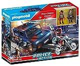 Playmobil 70464 Seguimiento de Alta Velocidad de acción de la policía (Exclusivo)
