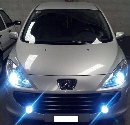 Kit Xenon Voiture H1 6000 ° K 55 W adapté pour Peugeot 307 de juin 2005 + 2 filtres Warning Canceller produit nouveau