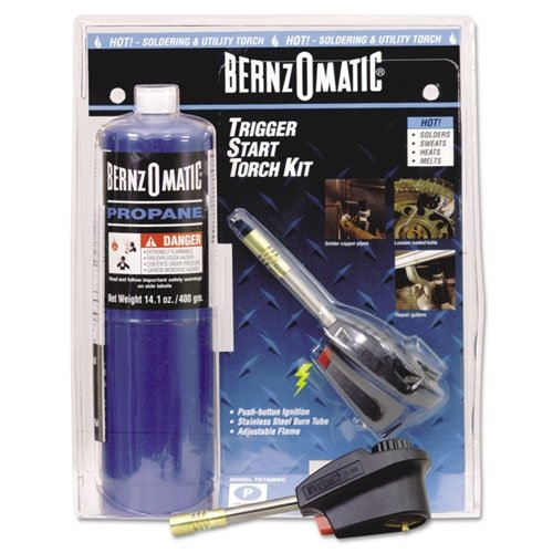 Trigger Start Propane Torch Ignites The Flame Welding Tool Gas Basic Bernzomatic