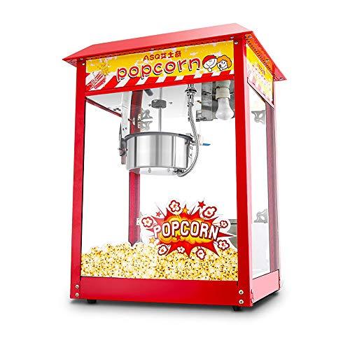 Professioneller Kommerziell Popcornmaschine Popcorn Maker Machine, Popcorn der hohen Leistung 1500W, das Maschinen-Popcorn-Ausrüstung herstellt, für Weihnachtsfest-Theater und Mall