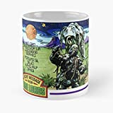 Doctor Who Dr Dalek Tardis Weetabix Mug - Best 11 Ounce Cerámica Coffee Mug Gift
