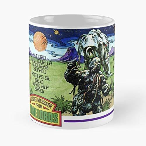 Doctor Who Dr Dalek Tardis Weetabix Mug - Best 11 oz Kaffee-Becher - Tasse Kaffee Motive