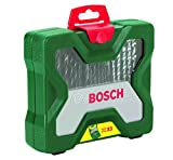Bosch Home and Garden 2607019325 33pc <span class='highlight'>Drill</span>/Driving Set, Silver/Black