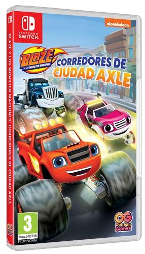 Blaze Y Los Monster Machines Corredores De Ciudad Axle