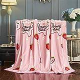 KENEL Mantas de Felpa de Franela cálida Silk Touch - Mantas para sofá, Manta mullida, Manta para Dormitorio, sofá, Viajes, niños, Dormitorio-# 4_El 180X200cm