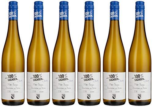 Das ist 100% Sachsen Müller-Thurgau Dqw 2016 (6 x 0.75 l)