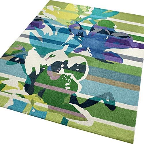 ESPRIT Floria Moderner Markenteppich, Polyacryl, Grün, 300 x 200 x 1 cm