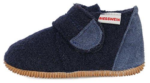 Giesswein Oberstaufen, Hausschuhe Unisex Baby, Blau, 21 EU