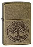 Genuine Zippo windproof lighter with distinctive Zippo click All metal construction; windproof design works virtually anywhere Refillable for a lifetime of use; for optimum performance, we recommend genuine Zippo premium lighter fluid, flints, and wi...