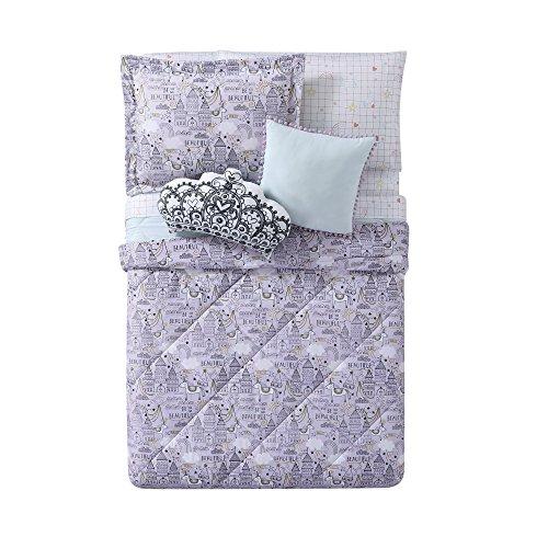 My World LHK-COMFORTERSET Princess Printed Twin XL Comforter Set, Twin/Twin, Unicorn Princes