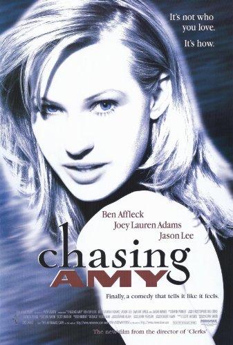 Pop Culture Graphics Chasing Amy Poster Movie B 11x17 Ben Affleck Joey Lauren Adams Jason Lee Dwight Ewell