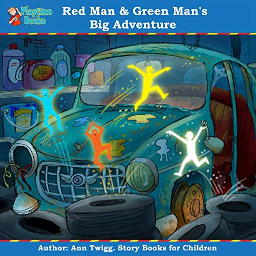 Red Man and Green Man's Big Adventure cover art